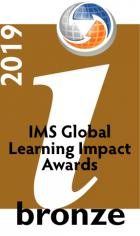 IMS Learning Impact Awards 2019 Bronze Medalist