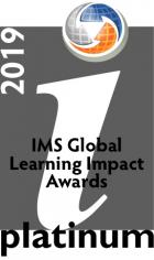 IMS Learning Impact Awards 2019 Platinum Medalist