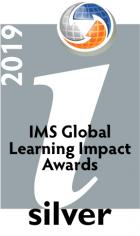 IMS Learning Impact Awards 2019 Silver Medalist