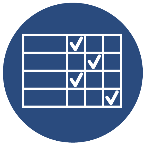 Icon for Competency Framework Rubrics