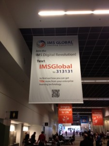 1 of 3 IMS Revolution Banners at EDUCAUSE 12