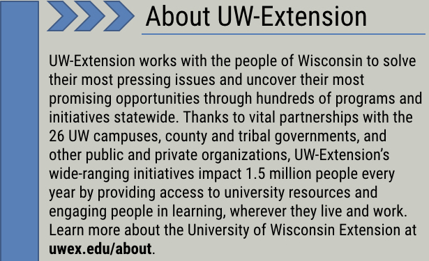 About UW-Extension