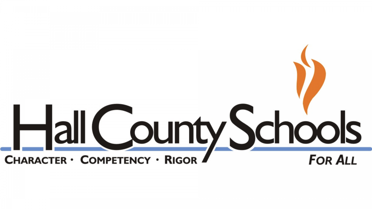 Hall County Schools logo