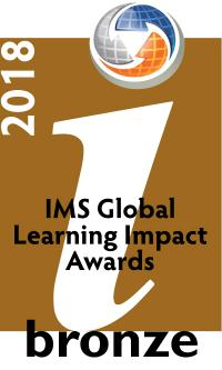2018 Learning Impact Award Bronze Medal Winners