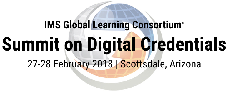 Summit on Digital Credentials 2018