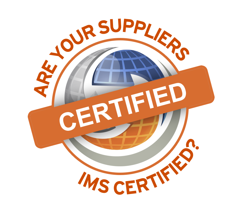 Are Your Suppliers IMS Certified logo