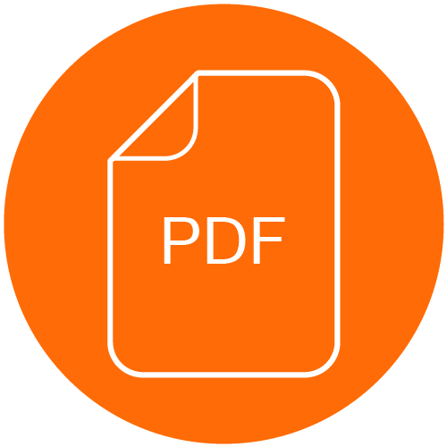 Icon for Competency Framework Documents such as PDF files