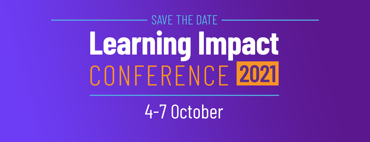 IMS Learning Impact Conference 2021 Save the Dates